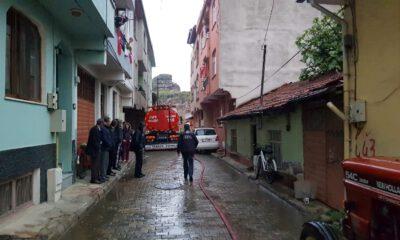 Bursa'da bir evde tüp patladı: 2 yaralı