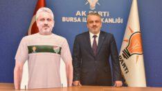 AK kadrolardan Bursaspor'a tam destek