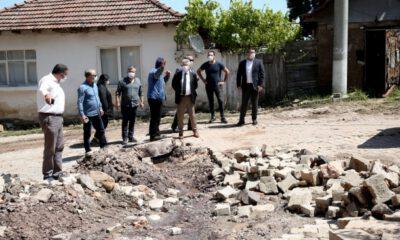 Nilüfer Belediye Başkanı Erdem'den 'geçmiş olsun' ziyareti