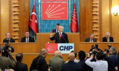 CHP'de grup toplantıları başlıyor
