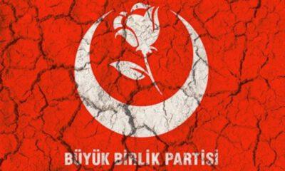 Büyük Birlik Partisi'nde istifa depremi!