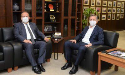 Bursa Valisi Yakup Canbolat'tan BTSO'ya ziyaret