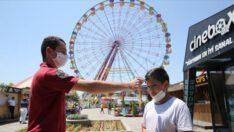 Lunapark ve tematik parklar, 'kontrollü sosyal hayat' çerçevesinde açıldı