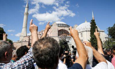 Danıştay 10. Dairesinin 'Ayasofya' kararı, sevinçle karşılandı