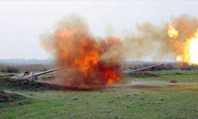 Azerbaycan-Ermenistan sınırında çıkan çatışmalarda 7 asker şehit