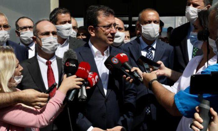 İmamoğlu: Allah, İstanbul'u, akla ve bilime inanmayanların şerrinden korusun