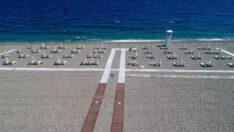 Yaz tatilinde de sosyal mesafeye dikkat!