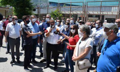 CHP Bursa: Atatürk Spor Salonu'na Dokunma!
