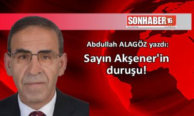 Sayın Akşener'in duruşu!