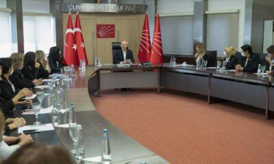 Kılıçdaroğlu, CHP Kadın Kolları üyeleri ile buluştu