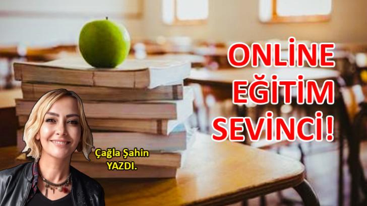 Online eğitim sevinci!