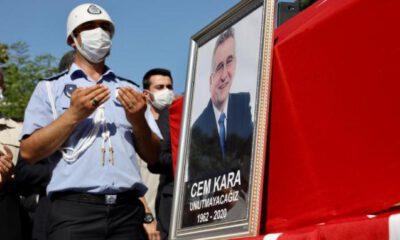 Çatalca Eski Belediye Başkanı Cem Kara son yolculuğuna uğurlandı