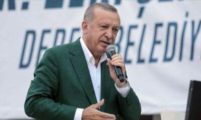 Cumhurbaşkanı Erdoğan Giresun'da…