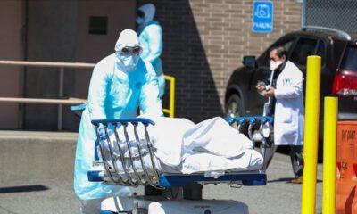 ABD'de Kovid-19 nedeniyle ölenlerin sayısı 165 bin 92'ye yükseldi