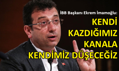 İmamoğlu'ndan Kanal İstanbul yorumu: İhanet Projesi…