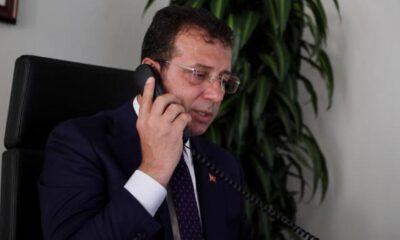 İmamoğlu'ndan Beyrut Belediye Başkanı Itanı'ya telefon
