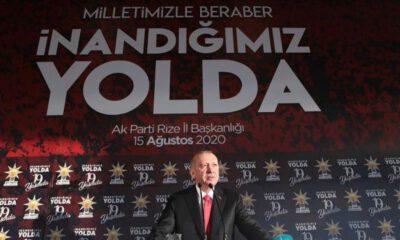 Erdoğan: Kıta sahanlığımızda haydutluğa asla boyun eğmeyeceğiz