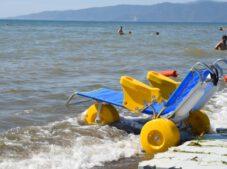Bursa Büyükşehir'den engelsiz plaj