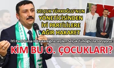 Bursa kamuoyu, Selçuk Türkoğlu'ndan özür bekliyor