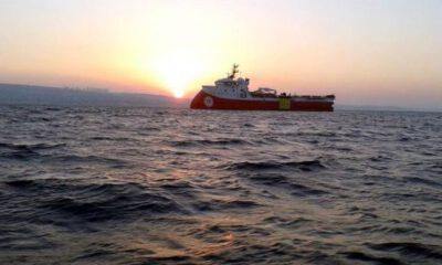 Barbaros Hayreddin Paşa gemisi Doğu Akdeniz'de 18 Ekim'e kadar çalışacak