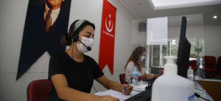 Adana'da, Kovid-19 Çağrı Merkezi ile evde test ve tedavi imkanı