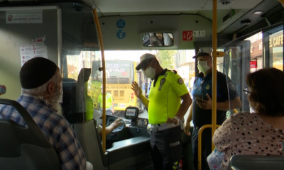 Bursa'da minibüs ve otobüslere 'ayakta yolcu' denetimi