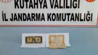Kütahya'da 1 milyon dolarlık banknot ele geçirildi