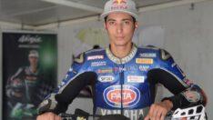 Milli motosikletçi Toprak Razgatlıoğlu, İspanya'da ısınma turlarında kaza geçirdi