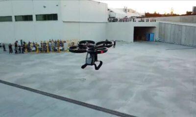Türkiye'nin ilk uçan arabası 'Cezeri' uçuş testlerini tamamladı