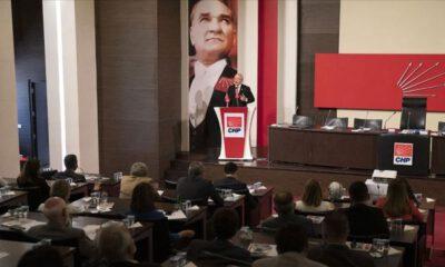 CHP PM toplantısı yapıldı