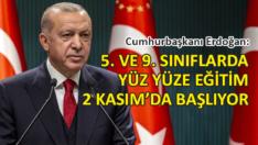 Erdoğan, kabine toplantısının ardından açıkladı