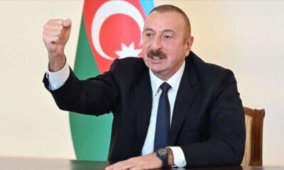Azerbaycan CumhurbaşkanıAliyev'den Ermenistan'a sert tepki