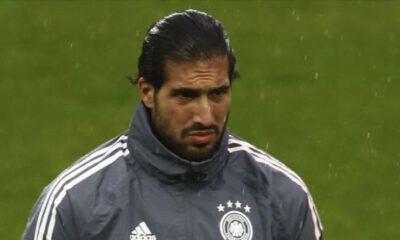 Borussia Dortmund'da forma giyen Emre Can'ın Kovid-19 test sonucu pozitif çıktı
