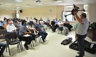 Bursa Büyükşehir Belediyesi personeline İHA eğitimi