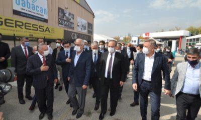 Uluslararası İnegöl Mobilya Fuarı Kovid-19 tedbirleriyle açıldı