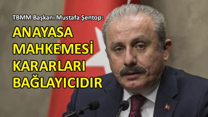 TBMM Başkanı Şentop'tan 'Enis Berberoğlu' yorumu