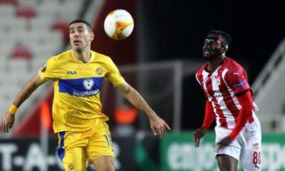 Demir Grup Sivasspor, UEFA Avrupa Ligi I Grubu ikinci maçında yenildi