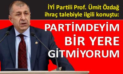 İYİ Parti Milletvekili Özdağ, iddialara cevap verdi