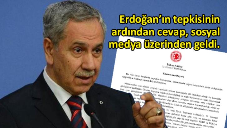 Bülent Arınç istifasını sosyal medyadan duyurdu