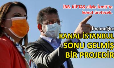 """İmamoğlu'ndan """"Kanal İstanbul'da sona gelinmişti"""" açıklamasına yanıt"""
