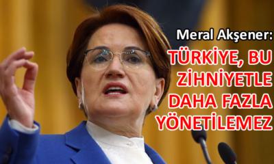 Akşener'den Berat Albayrak'ın istifasına çarpıcı yorum…