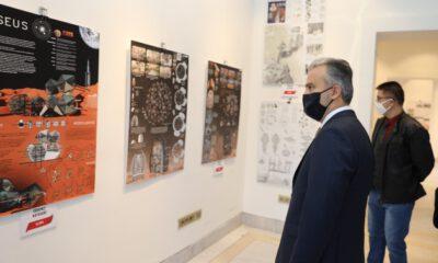 Bursa'da 'Mars 2050' sergisi