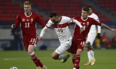 Macaristan'a deplasmanda mağlup 2-0 olan Türkiye, C Ligi'ne düştü.