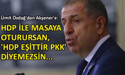 İYİ Partili Prof. Dr. Ümit Özdağ'dan çarpıcı açıklamalar