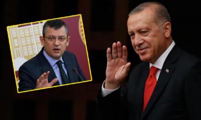 Erdoğan'dan CHP'li Özgür Özel'e tazminat davası