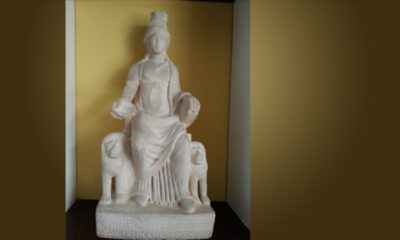 1700 yaşındaki 'ana tanrıça Kybele' vatanına döndü