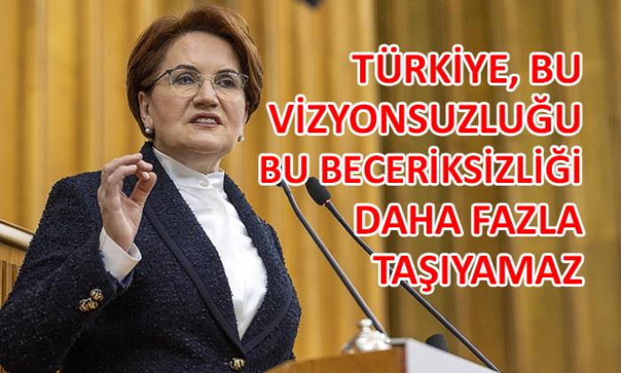 Meral Akşener'den kritik açıklamalar