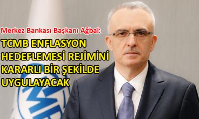 TCMB Başkanı Ağbal'dan 'enflasyon' açıklaması
