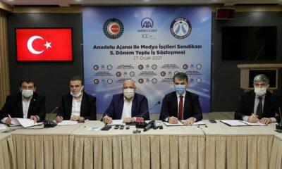 Anadolu Ajansında toplu iş sözleşmesi imzalandı