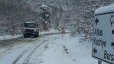 Nilüfer Belediyesi, karla mücadeleye hazır